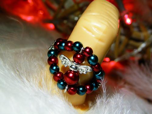 Andělský prstýnek - vánoční andílek