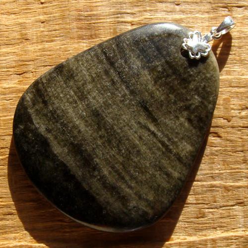 Přívěsek ze zlatého obsidiánu XL (rarita)