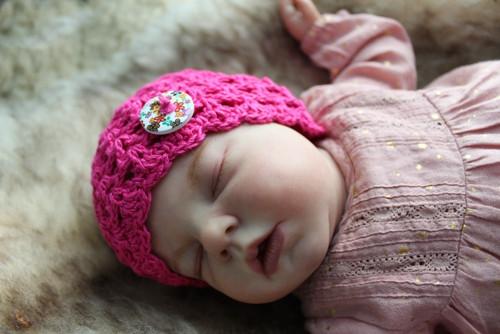Novorozenecká čepička