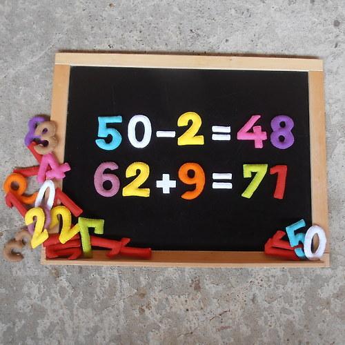 Magnetická čísla - počítáme od 1 do 100