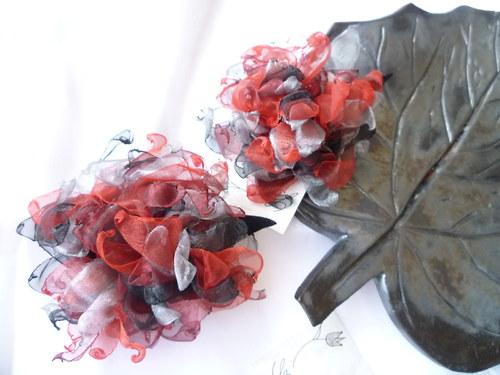 Astra rudá - velká brož