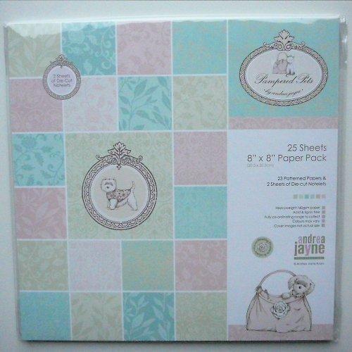 Papíry Miláčci 20,3x20,3 cm