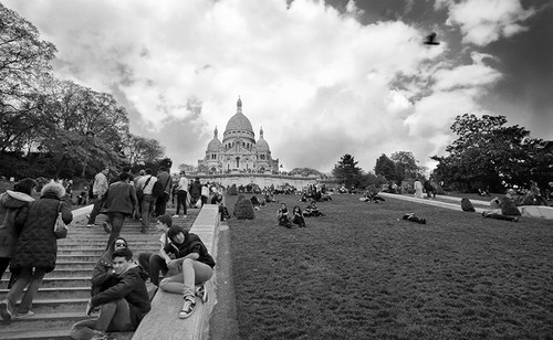 Paříž - Sacre Coeur