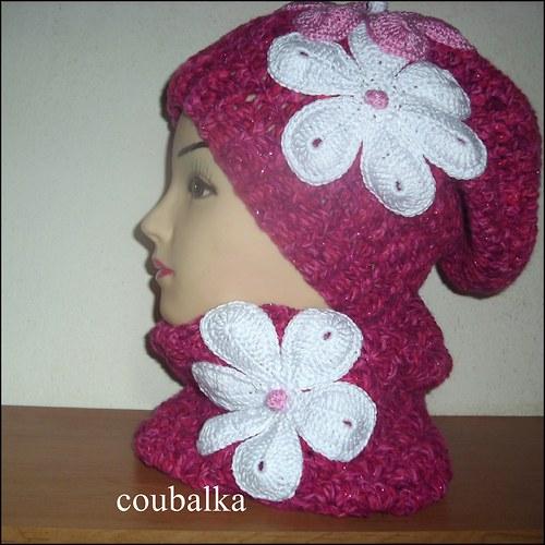 Tm.růžový setík na zimu