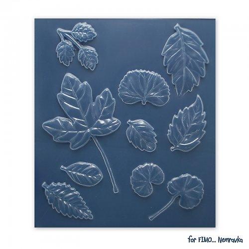 Forma na Fimo - Podzimní listí