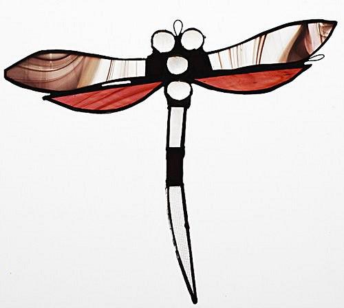 Opálová broskvová vážka