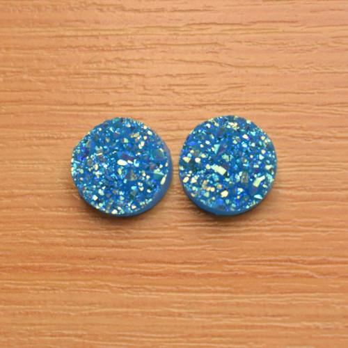 Akrylový kabošon - 12 mm - 2 kusy