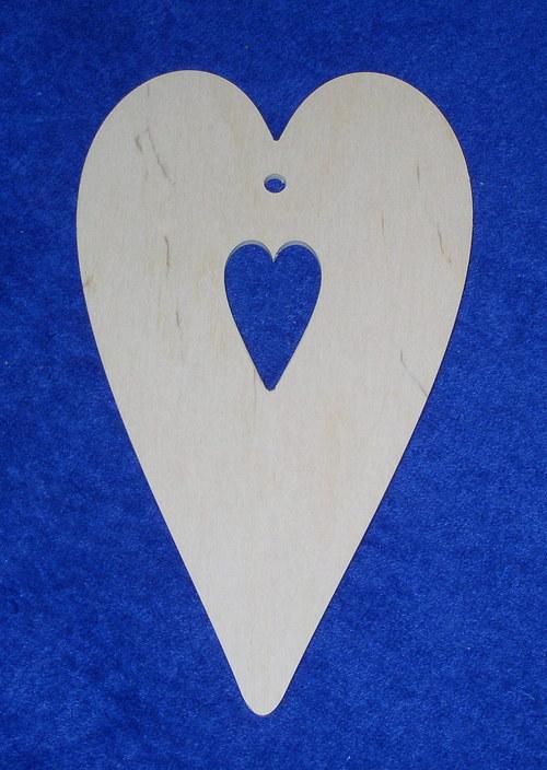 Velké srdce se srdcem DD40