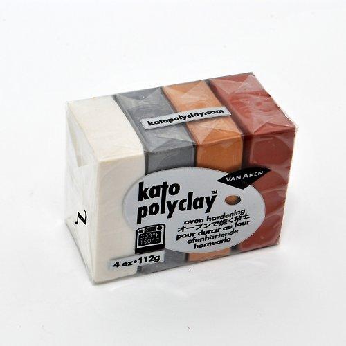Kato Polyclay Mix / metallics