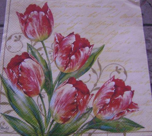 ubrousek tulipány