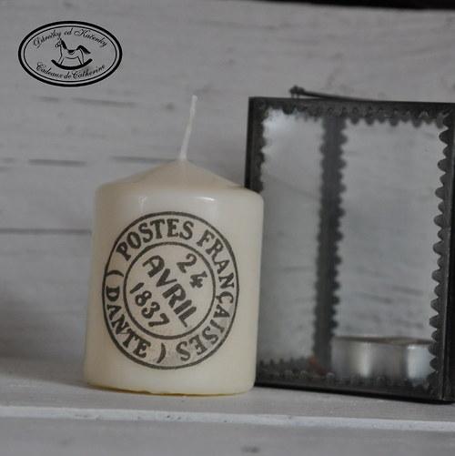 Svíčka s razítkem