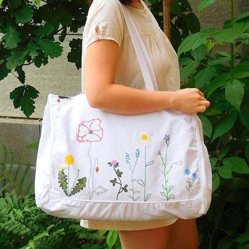 velká plátěná taška LOUKA