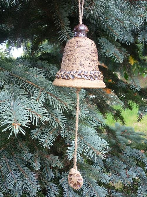 Keramický zvon - 10cm