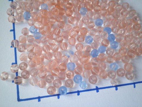 Růžové a modré pastelové, 10 gr