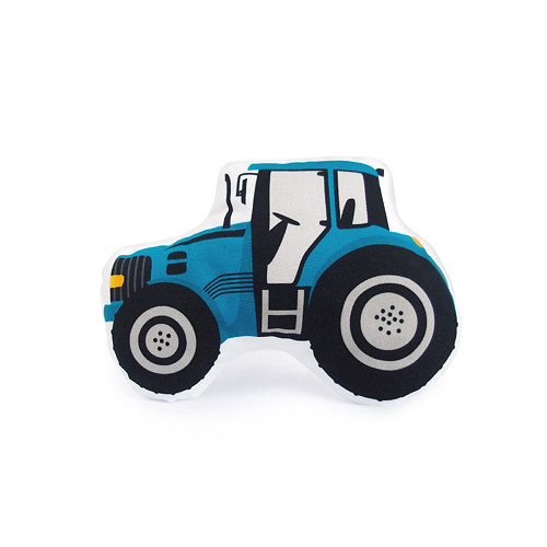 DOPRAVNÍ PROSTŘEDKY / traktor modrý