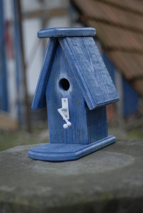 Ptačí budka střední - Modrá