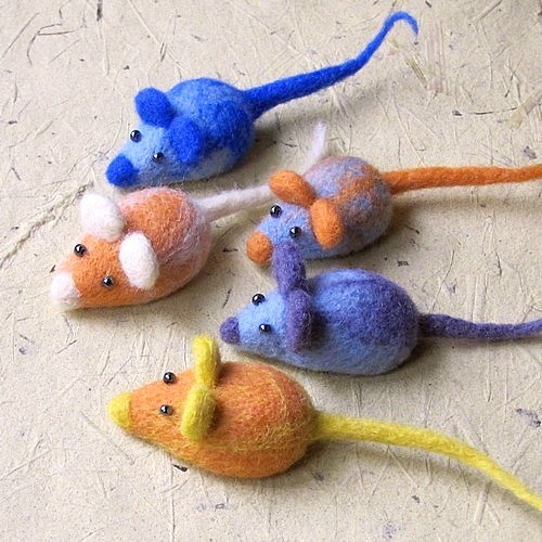 Plstená myška IX.