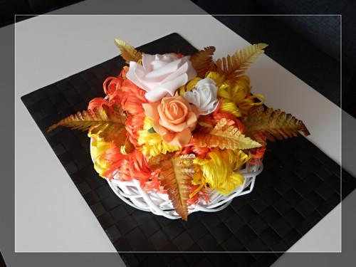 Podzimní dekorace na stůl nebo dveře