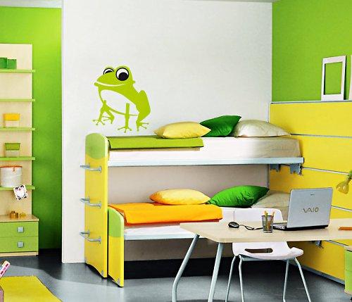 Žabka - samolepka na zeď