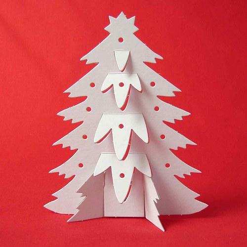 Vánoční stromeček 3D, 3 archy
