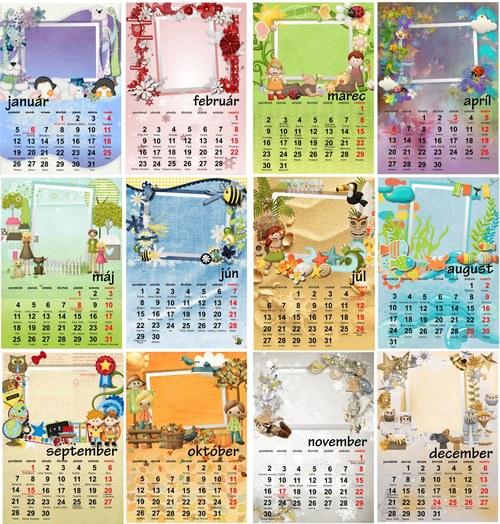 osobný kalendár 2016