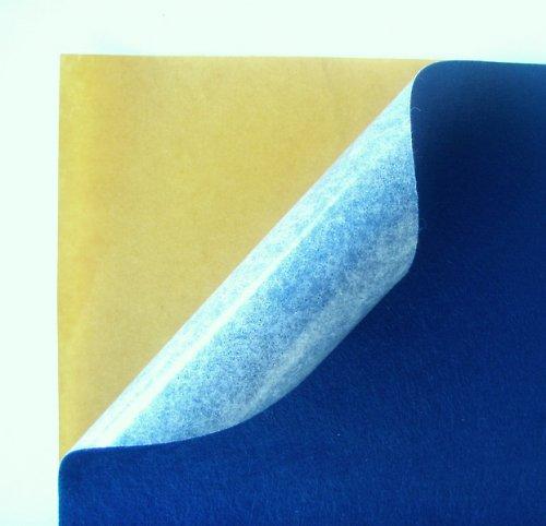 Samolepicí plsť barva č. 4 - tmavě modrá