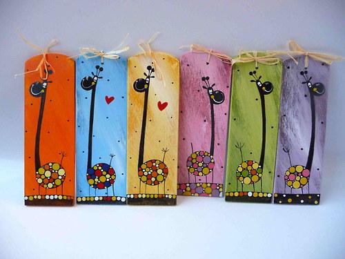 snowboard pro trpaslíka - žirafy
