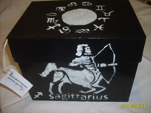 & Úložná krabice-znamení zvěrokruhu STŘELEC &
