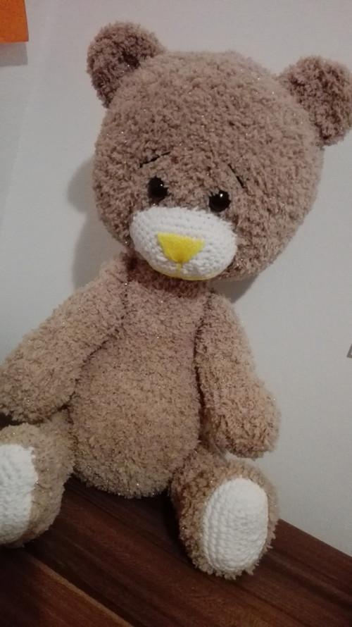 Velký chlupatý medvěd