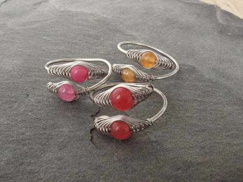 Clariskový prstýnek - výběr barev