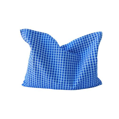 Nahřívací polštářek modré kostky malé