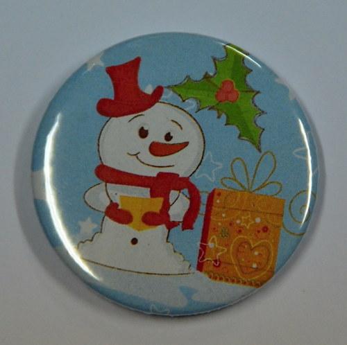 Sněhulák a dáreček