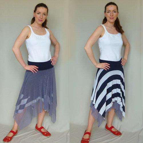 Námořnická oboustranná sukně