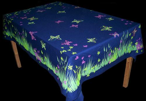 Ubrus motýlový