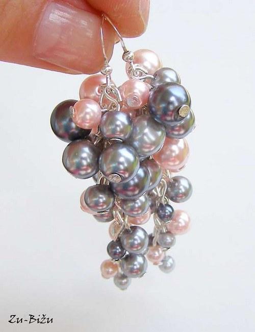 Sivo-ružové perličky