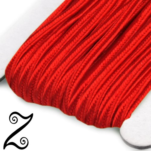 Sutaška, červená, 3 mm (1m)