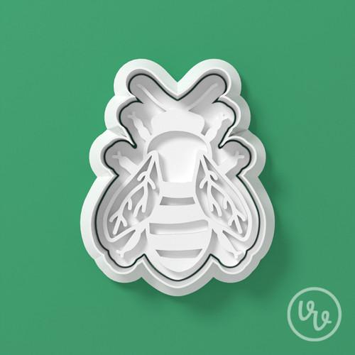 Vykrajovátko - Včela + reliéf