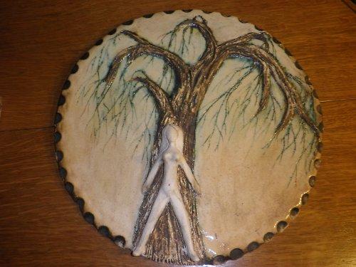 Nástěnný kachel-dekorace-STROM ŽIVOTA