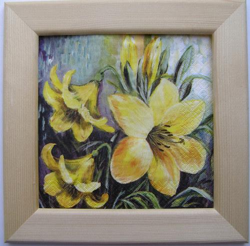 Obrázek č.81 - Žluté květy
