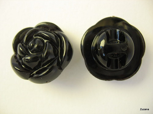 Knoflíky  Růžička