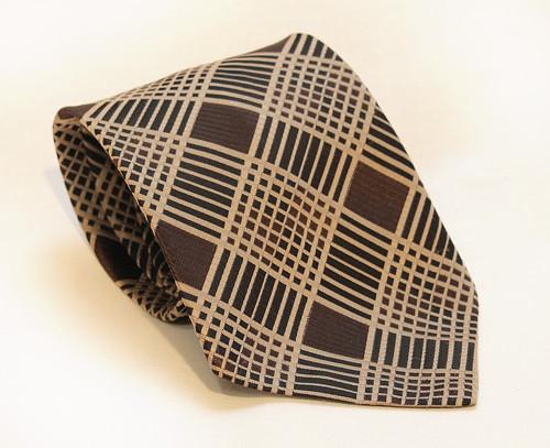 Vintage pánská široká kravata, 70.léta Anglie