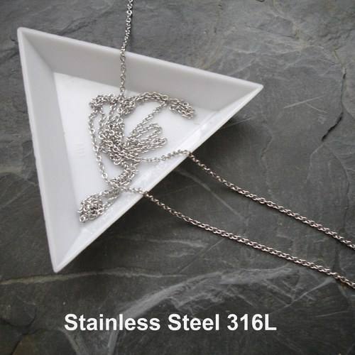 Řetízek 1,8x1,5x0,4mm Stainless Steel 316L - 5 m