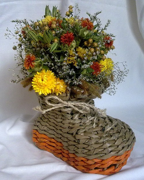 pletená bota