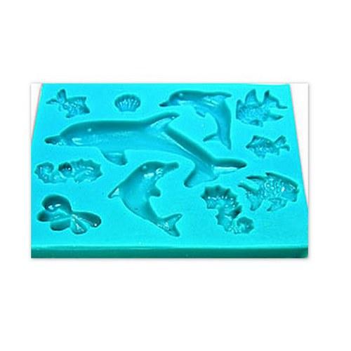 Formy na Fimo / Ryby, rybky, rybičky