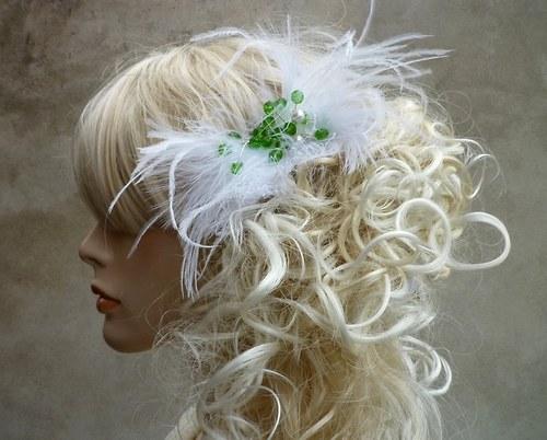 Svatební ozdoba do vlasů Simari