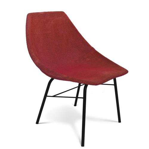 Skořepinová židle + stolek