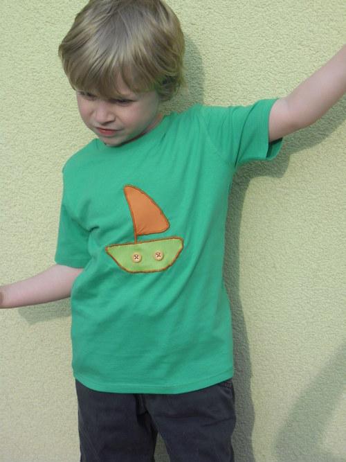Dětské tričko s krátkým rukávem