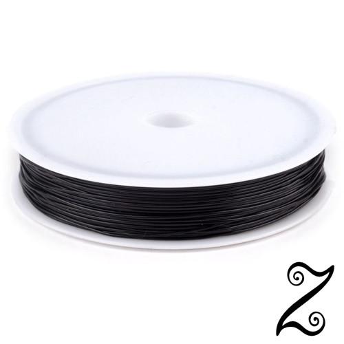 Pruženka kulatá, černý, Ø 0,4-0,6 mm