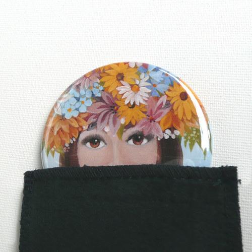 Dívka v rozpuku - zrcátko 64