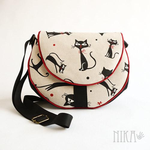 Kočičková kabelka větší